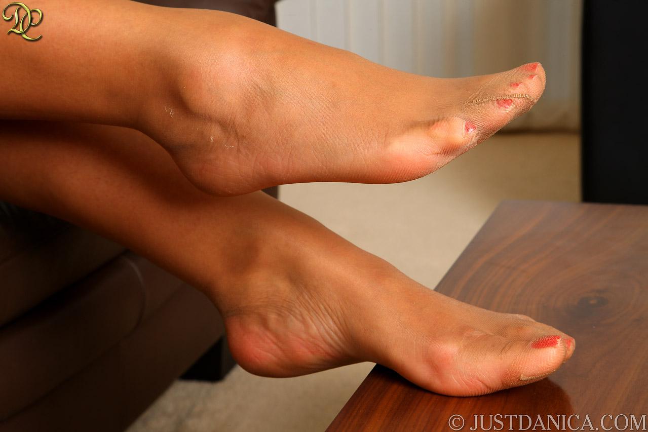 Opinion danica collins sexy feet heels