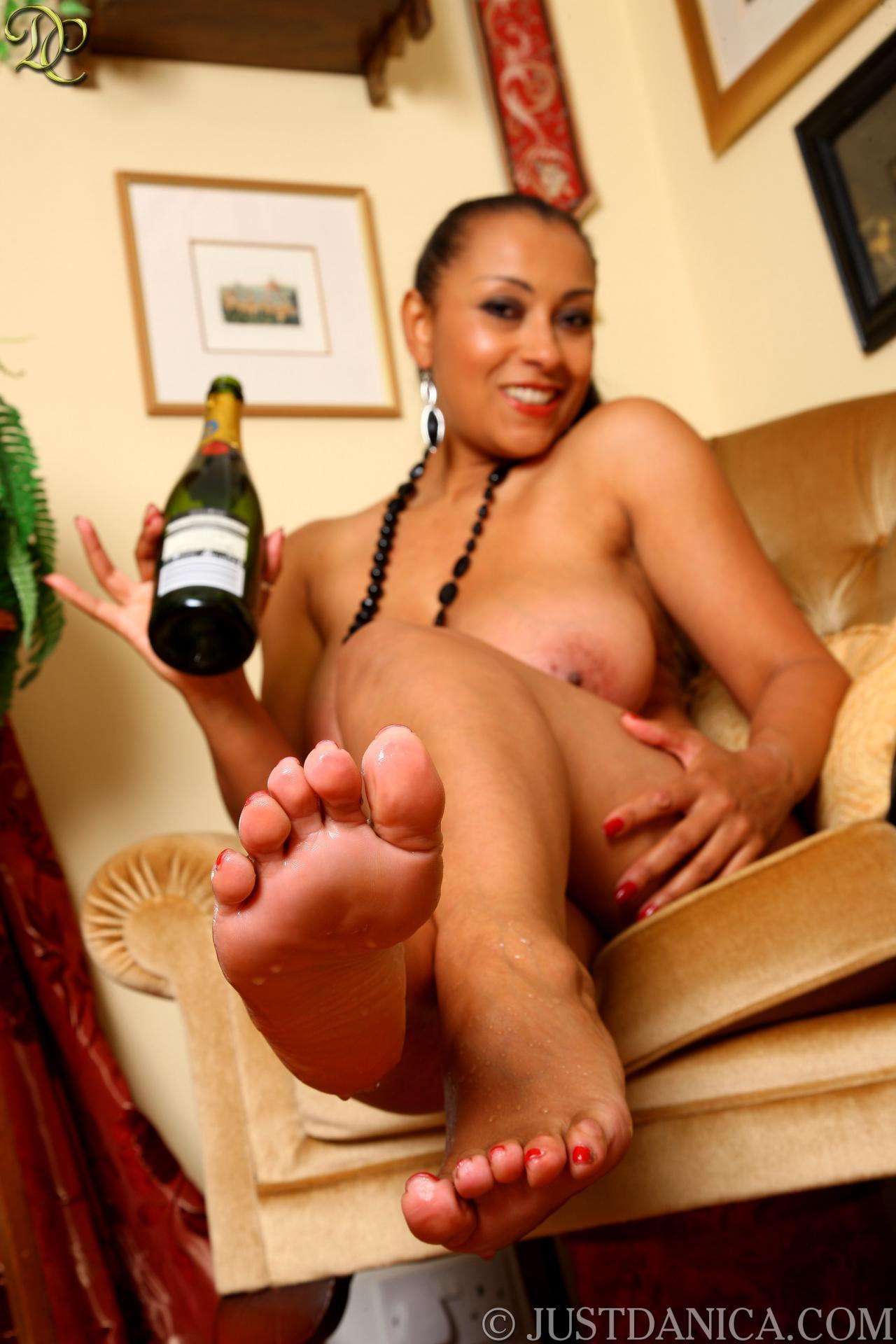 bare feet and Danica collins legs