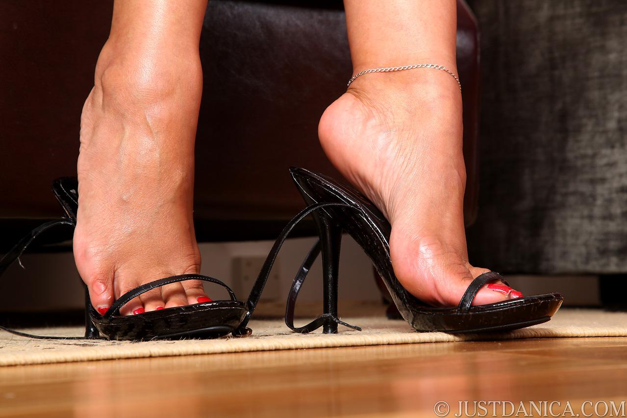 Danica collins sexy feet heels