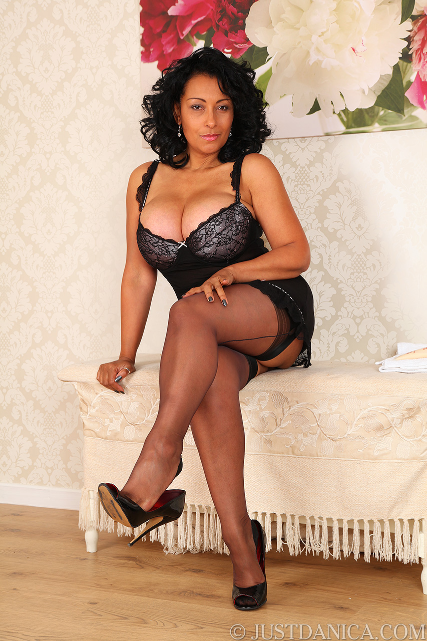 Danica collins mature english milf in stockings and suspenders high ...